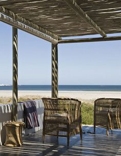 a beach house in South Africa