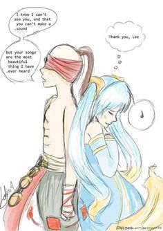LeeSin x Sona! One of my favs!