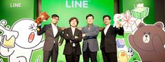 Fast-growing chat app Line leaves the US until last, as it passes 300 million registered users