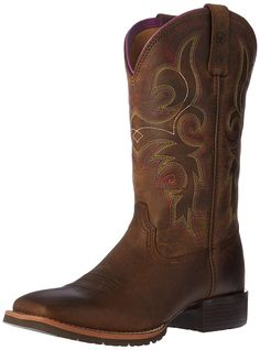 Ariat Women's Hybrid Rancher Western Cowboy Boot -- This is an Amazon Affiliate link. You can find more details by visiting the image link.