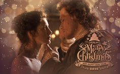 Merry Christmas from us and the Outlander fandom - For that romantic moment on Christmas night.