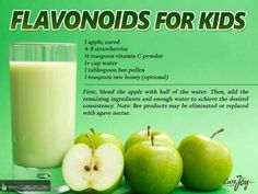 Flavorful smoothie for kids