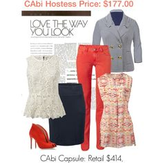 Love the way you look in CAbi!   Www.debragrauss.cabionline.com