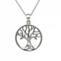 STERLING SILVER TREE OF LIFE PRNDANT