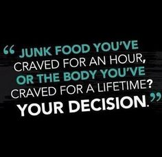 Seems like a no-brainer in rational, non-craving thought! I'll have to remind myself of this one during craving madness.
