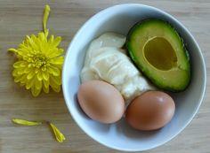 Egg Avocado Mayo Hair Mask