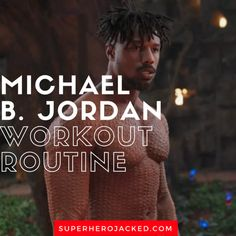 Michael B. Jordan Workout and Diet [Updated]: Train like Killmonger! Best Ab Workout, Workout Guide, Post Workout, Workout Challenge, Workout Plans, Workout Board, Ultimate Workout, Plank Workout, Training Motivation
