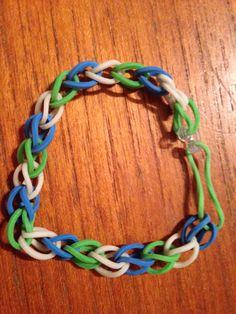 My rainbow bracelet