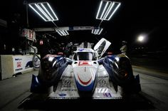 #DysonRacing's #Mazda MZR-R powered LMP1 race vehicle at #Petit #LeMans #ALMS