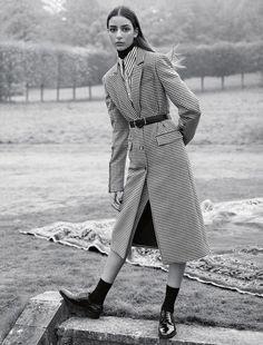 Vogue UK February 2017 by Karim Sadli | The Fashionography