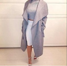 outfitmadestyle:  OM Waterfall Trench Coat (available at Outfit Made)