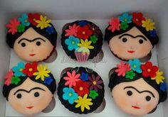 Cupcake Frida Kahlo