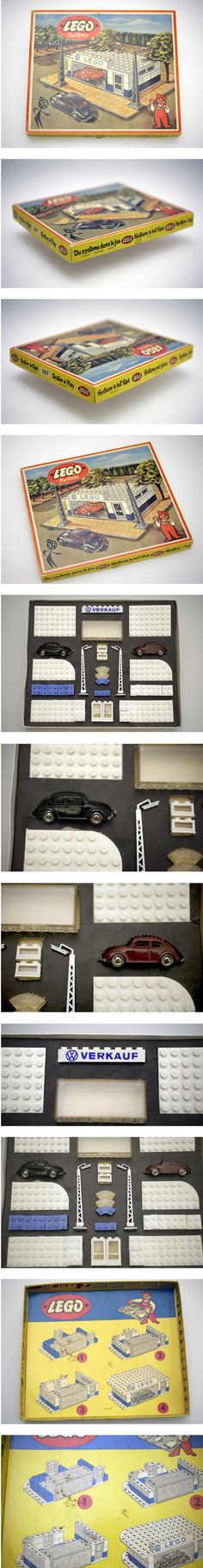 "LEGO SET 307 ""VW VERKAUF"" von 1958 FOR SALE NOW on EBAY.DE  Lego envy"