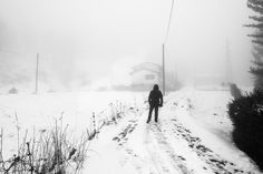 Walking towards the mist - Part Two (Valle Cervo Biella) by maxrastello