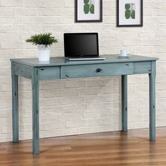 Shop for Robin Egg Leslie's Attic Desk. Get free shipping at Overstock.com - Your Online Furniture Outlet Store! Get 5% in rewards with Club O!