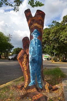 JOSÉ GREGORIO (2014) #arte #arbolmuerto  #barquisimeto #cabudare #lara #raizabarros #raizamileva #venezuela