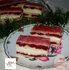 Meggyes krémes Hungarian Desserts, Good Food, Yummy Food, Thing 1, Recipe Boards, Food Journal, Sweet And Salty, Sweet Life, Cake Cookies