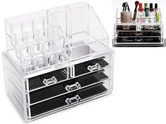1000 id es sur organisateurs de maquillage acrylique sur - Rangement maquillage acrylique ...