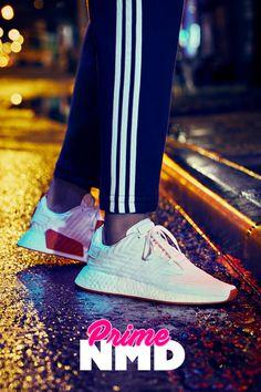 adidas Originals NMD_R2 Primeknit: White