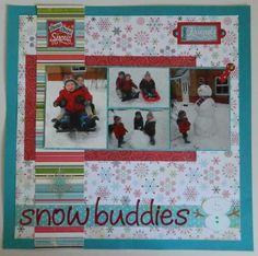Layout: Snow Buddies