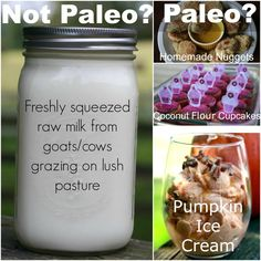 Maybe we'll continue to consume pastured dairy products during our Whole30 instead of gobs of coconut-based products...