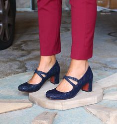 HEROI RETRO NAVY :: SHOES :: CHIE MIHARA SHOP ONLINE - http://www.chiestore.com/heroi_retro_navy_3096.3php