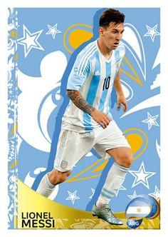 398 Lionel Messi - Argentina -Copa Centenario 2016