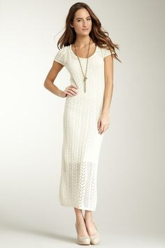 Nothing Says Utah Chic like... aShort Sleeve Maxi Dress! But I love it :))