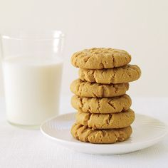Crunchy Peanut Butter Cookies | Food & Wine