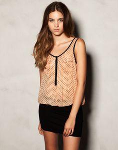 POLKA DOT PRINT DRESS - DRESSES - WOMAN - Croatia
