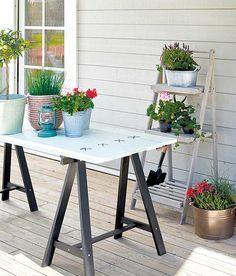 Å bygge et hagebord er et enkelt og morsomt prosjekt. Vi viser det hvordan du bygger hagebord som er perfekt til sommerens terrassekos!