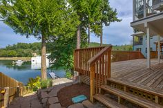 Gorgeous landscaping & water frontage!