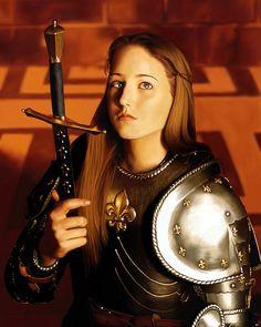 Leelee Sobieski as Joan of Arc. Very nice shot.