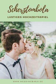 Ihr wollt ein Spiel auf der Hochzeit spielen und eure Gäste zum Lachen bringen? Dann probiert doch die Scherztombola als Hochzeitsspiel aus. Ein lustiges Hochzeitsspiel das immer für Spaß bei den Hochzeitsgästen sorgt