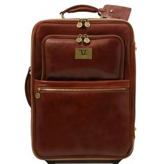 Wheeled Leather Trolley Case | Wheels, Leather and Bag