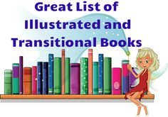 Great website to find children's book lists for illustrated, transitional, great pageturners, and advanced reads!