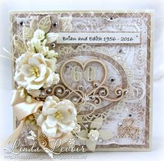 SWG Original Designs: Shabby Chic Diamond Wedding