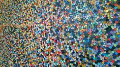 Paul Smith wall of buttons amazing