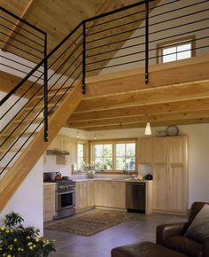 Small homes with loft small house with loft tiny house with loft white painted interior small Metal Building Homes Cost, House Building, Hot Tub Pergola, White Pergola, Pergola Shade, Tiny House Loft, Tiny Houses, Loft Plan, Rustic Loft