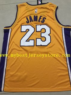 Men s LeBron James Swingman Nike Jersey NBA Los Angeles Lakers  23 stitched  Nba Los Angeles 050933ec4