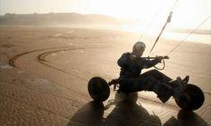 Sand Kiting