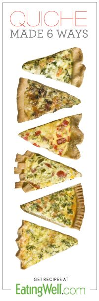 Get ideas for how to make quiche