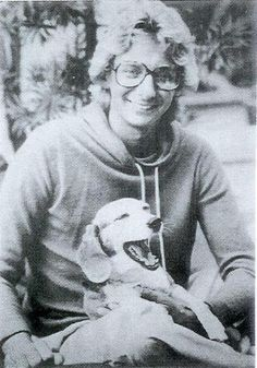 Barry Manilow  and Bagel.