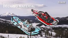 Pro II Snowshoes by Yukon Charlie's: Our modern classic snowshoe provides all the best features Yukon Charlie's® has to offer.  A true performance snowshoe from the designers at Yukon Charlie's®. Tech Weave™ decking, attached with molded traction fasteners to our lightest and strongest frame, make this simply a premier performer. The Pro II will allow the snowshoe enthusiast access to any adventure the backcountry has to offer, at prices only Yukon Charlie's® can offer. Purchase Yukon…