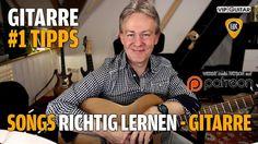 Songs auf der Gitarre richtig lernen - Gitarren Hacks #1 Tipps