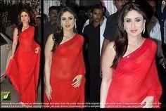 INDIAN DESIGNER REPLICA BOLLYWOOD  STYLE FULL NET PARTY WEAR SARI BRIDAL LOOK