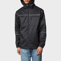 Stussy 3M RipStop Jacket Black #stussy #streetwear #3M #reflective #newcollection