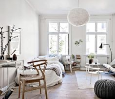 Make sure your lighting is A+. | 19 Insanely Easy Ways To Make Your Tiny Rental Feel Bigger