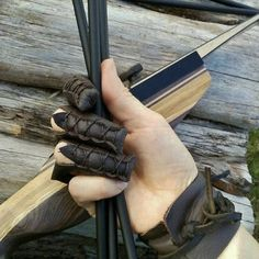 Customer shared photo, showing our archery glove in action! Made and sold by folkofthewood on etsy Archery Gloves, Archery Bows, Archery Quiver, Archery Clothing, Archery Gear, Archery Equipment, Larp, Crossbow Hunting, Archery Hunting