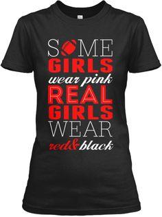 Girls Red & Black | Teespring